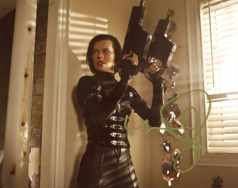 "Milla Jovovich ""Resident Evil"" AUTOGRAPH Signed 8x10 Photo B ACOA"
