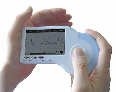 Md100b Handheld Ecg Monitor With Reusable Clmap Electrode Adult Or Pediatric