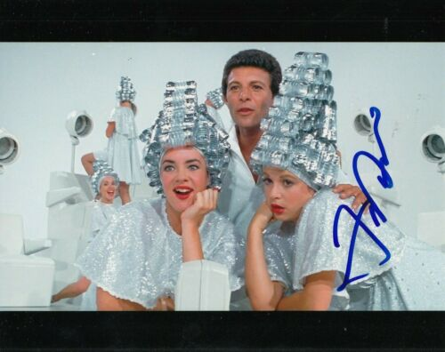FRANKIE AVALON signed (GREASE) Movie 8X10 photo *Beauty School Dropout* W/COA #5