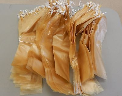 Fibrous Casings For Sausage  Size 2 X 18 In Tied 25 Pc In Package  Clear Casing