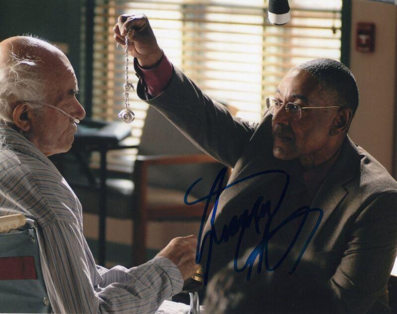 Giancarlo Esposito Breaking Bad Gus Fring Signed 8x10 Photo w/COA