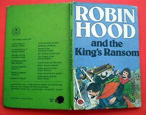 Robin-Hood-And-The-Kings-Ransom-vintage-Ladybird-book-1978-adventure-8-13-yrs