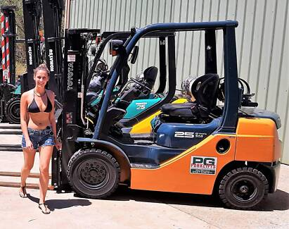 Forklift Hire 1.5 to 5 tonne