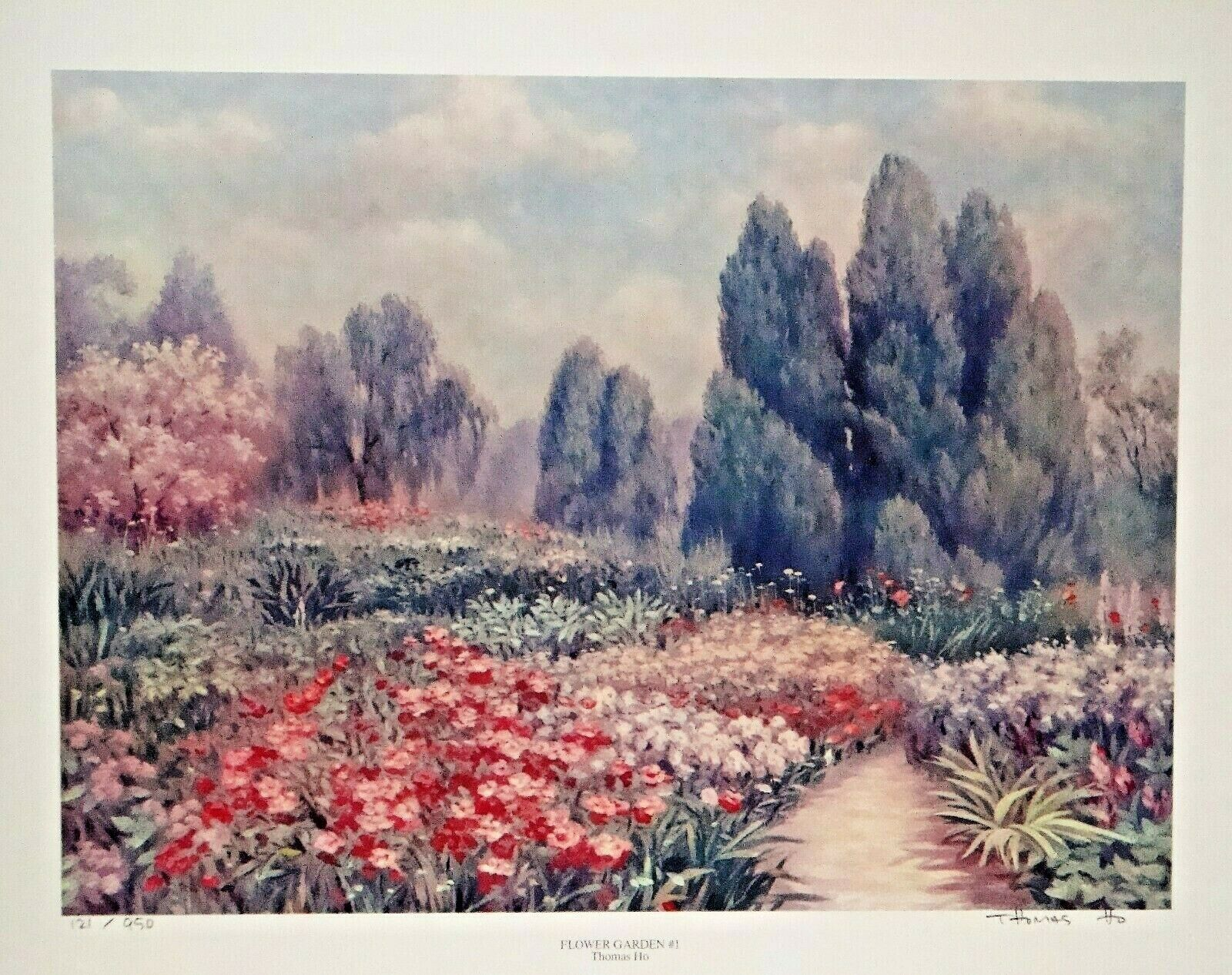 Flower Garden 1 121 / 950 By Thomas Ho - $39.99