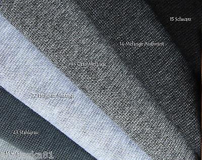 Bündchenstoff -XXL BREIT 140cm - Bündchenware Jersey-Bündchenstoffe Schlauchware