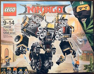 LEGO Ninjago Movie Quake Mech (70632) Retired SEALED Brand New