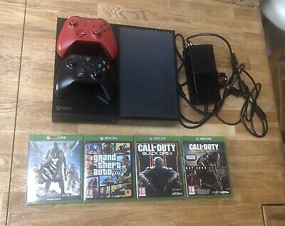 Microsoft Xbox One 500GB Console - 2 Controllers - 4 Games