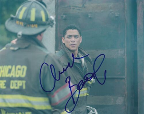 Charlie Barnett Signed Autographed 8x10 Photo Peter Mills Chicago Fire A