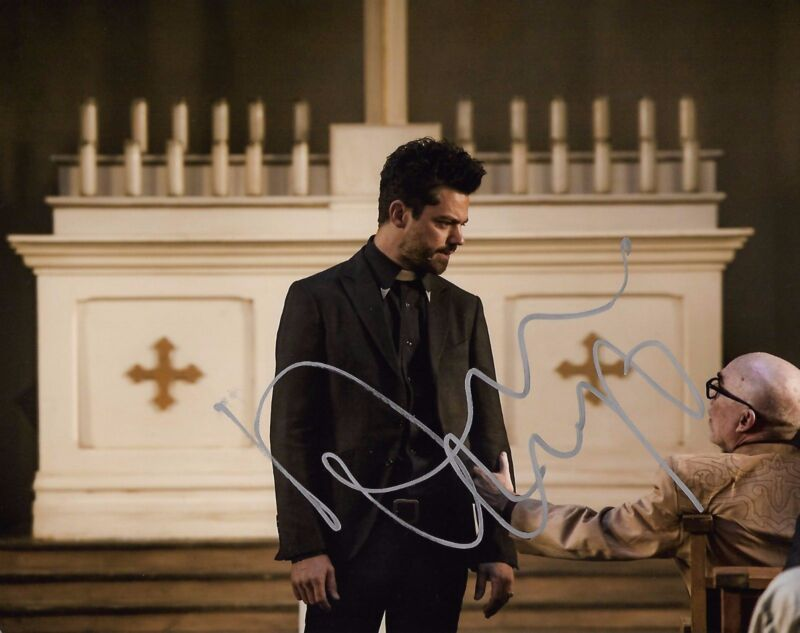 Dominic Cooper Preacher Autographed Signed 8x10 Photo COA #7
