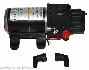 Pump 100PSI 5 lpm 12 Volt pressure Pump Horse Wash Spot Weed Spray Chemical Seal