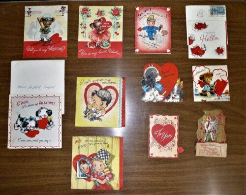 11 Vintage Valentines Day Cards