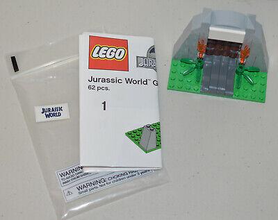 Lego Jurassic World Gate Toys R Us TRUS Exclusive Promo 62 pcs