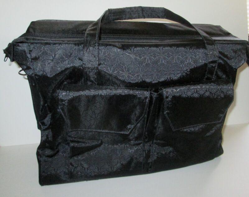 AVON Representative LARGE Jewelry CARRY STORAGE SHOW BAG Tote ZIPPER Lots Pocket