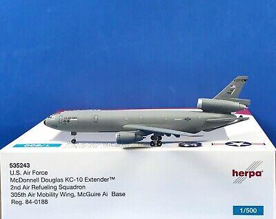 Herpa Wings U.S. Air Force McDonnell Douglas KC-10 Extender 1:500 (535243)