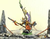 Warhammer Age Of Sigmar Skaven War Lord Island Of Blood - Master Painted - sigma - ebay.it