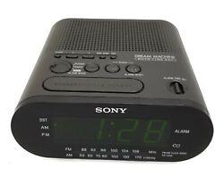 Sony ICF-C218 Dream Machine Auto Time Set FM/AM Clock Radio / USED