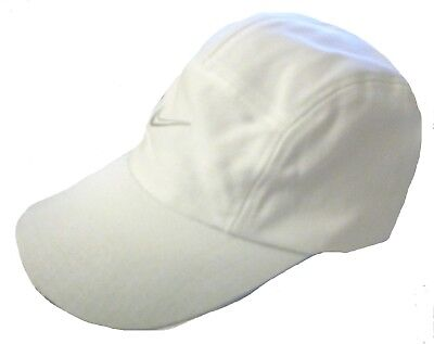 NIKE DIVERS  BASEBALL CAP HAT ONE SIZE WHITE GOLF RUN MENS NEW