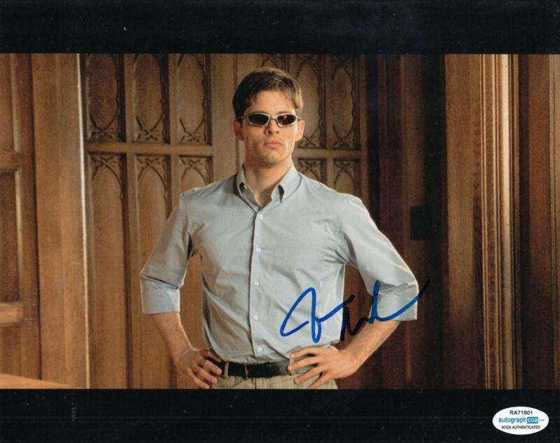 JAMES MARSDEN signed (X-MEN) Movie 8x10 photo *Scott Summers Cyclops* ACOA #1