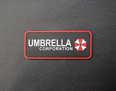 PVC Rubber Resident Evil Umbrella Corporation Morale Patch VELCRO® Brand