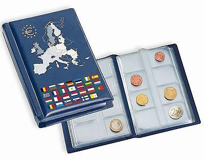 Leuchtturm Taschenalbum m. 12 Münzblättern für 12 Euro-KMS 330102