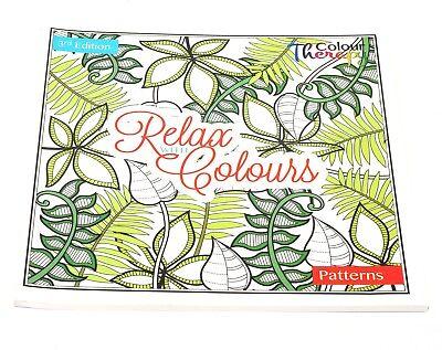 Erwachsene Anti-Stress Entspannung Färbung Puzzle Buch Muster ()