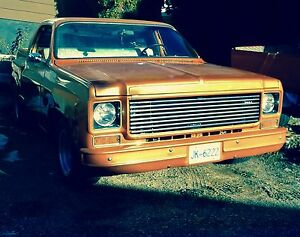 Chopped 1976 GMC