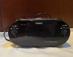 Timex XBBU T715 Redi-Set Dual Alarm Clock Radio Am/Fm Large Digital  Display
