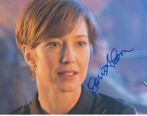 CARRIE COON signed (FARGO) TV Show 8X10 photo *Gloria Burgle* photo W/COA #2