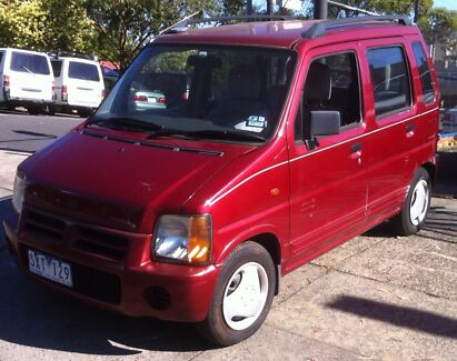1998 Suzuki R+ Wagon Mount Waverley Monash Area Preview