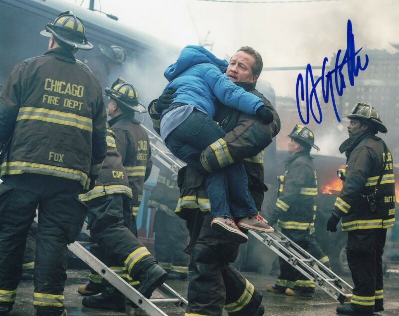 Christian Stolte signed 8x10 Photo w/COA Chicago Fire P.D. Randall McHolland #3