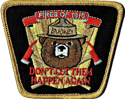 Smokey Bear Decal OLD SCHOOL 1960's Prevent Forest Fires 2 For 1