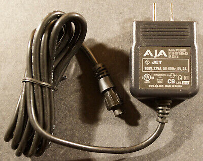 AJA Video NP12-US0520 5V DC 2A - Power Supply - DWP Connector Style, NEW !!! Aja Dwp Power Supply