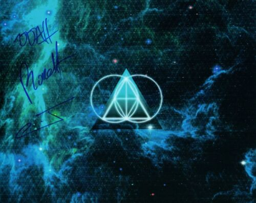 THE GLITCH MOB Signed Autographed 8x10 Photo Full Group EDM COA VD