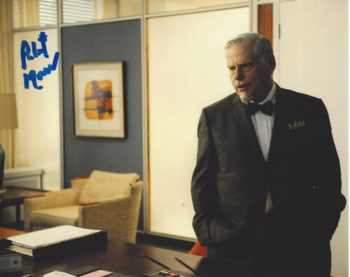 ROBERT MORSE SIGNED AUTHENTIC MAD MEN 'BERT COOPER' 8X10 PHOTO I w/COA ACTOR