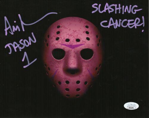 CANCER AWARENESS Ari Lehman Signed 8x10 Photo - Friday the 13th (JSA COA)