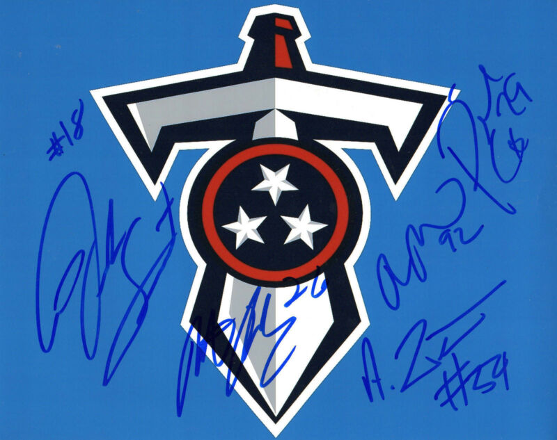 GFA Tennessee Titans * 2015 TEAM * Signed 8x10 Photo COA