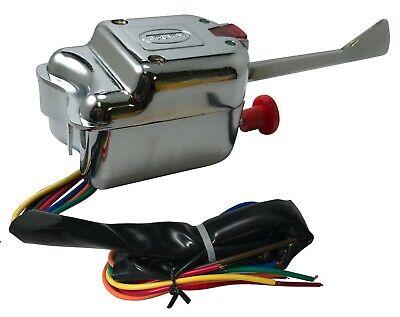 Universal Turn Signal Switch 7 Wire - Indicator Light & Emergency Flasher Button