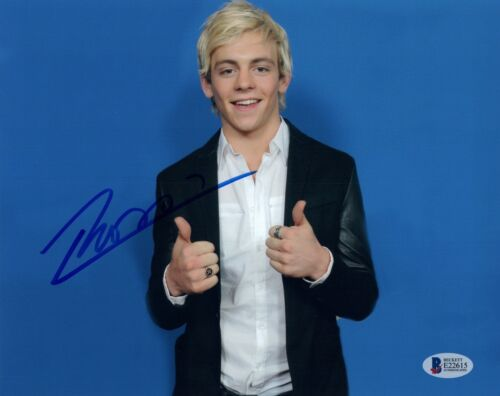Ross Lynch Signed Autographed 8x10 Photo R5 Austin & Ally Beckett BAS COA