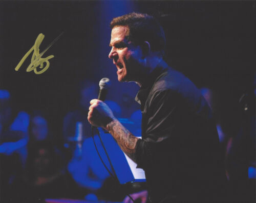 COMEDIAN TODD GLASS SIGNED AUTHENTIC STAND UP COMEDY 8X10 PHOTO E w/COA ACTOR