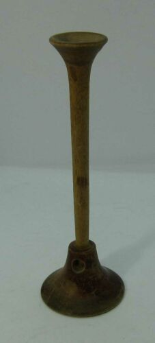 Antique Vintage WOODEN STETHOSCOPE Medical Monaural Doctor Tool Instrument