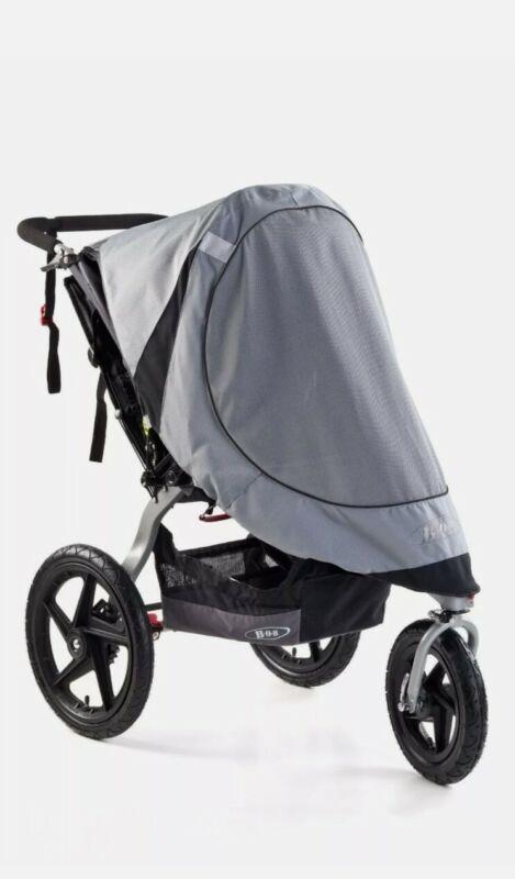 BOB Sun Shield for Revolution Single & Stroller Strides Grey NEW Baby Protect