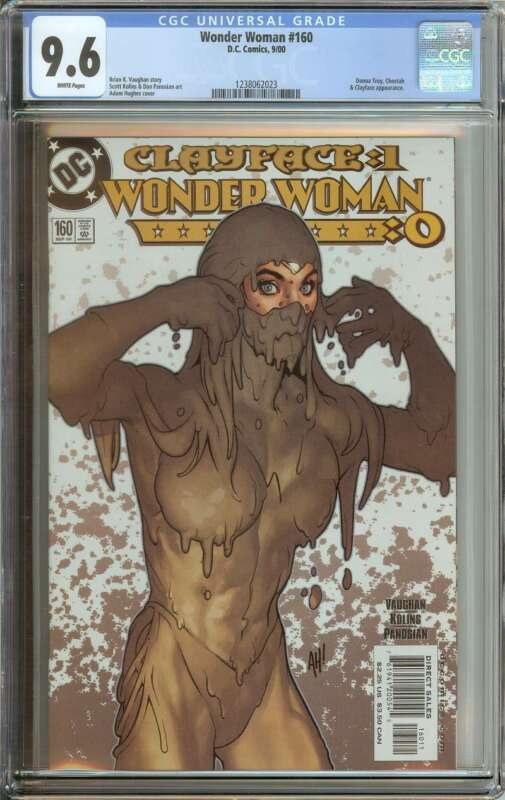 WONDER WOMAN #160 CGC 9.6 WHITE PAGES