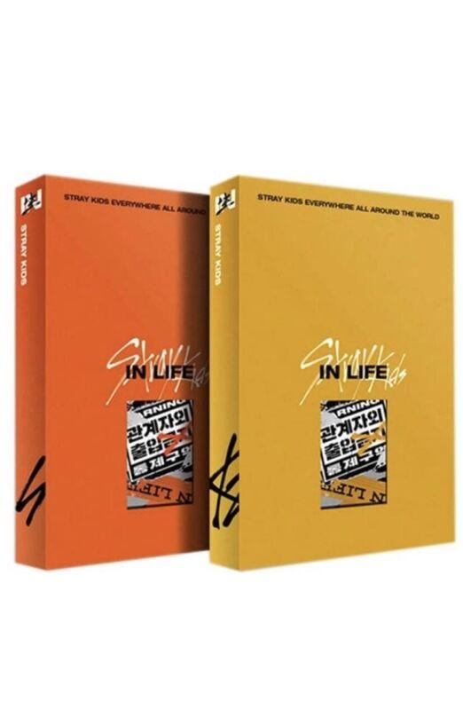 Stray Kids IN Life (IN生) Album, Photocard, SKZ,