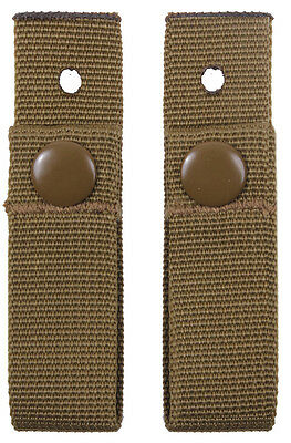 Coyote Brown MICH Helmet Goggle Straps Set Military Rothco 9857 Mich Helmet Straps