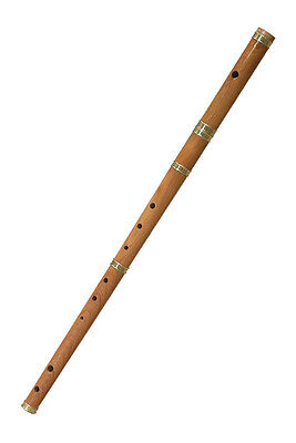 Mid East IRFL Roosebeck Satinwood Irish Flute w/ Traditional Irish Tuning (Irish Flute Tunes)