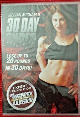 Jillian Michaels - 30 Day Shred (health & fitness ) NEW & SEALED UK DVD