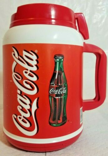 Coca-Cola Insulated Red Travel Cup Huge 64 oz. Coke By Whirley 2001