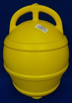 Rigid Plastic Mooring Pick up Buoy Boat  Yacht Lobster Pot Buoy Yellow UR