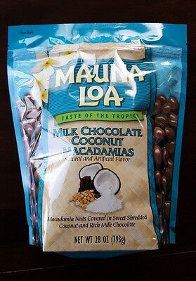 Mauna Loa Milk Chocolate Coconut Macadamia Nut - 28 oz (Mauna Loa Milk Chocolate Coconut Macadamia Nuts)