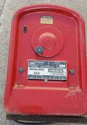 Lincoln Idealarc 250 Amp Ac Welder Ac-250